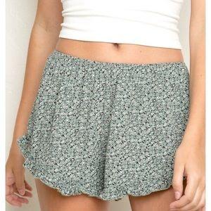 Brandy Melville Shorts - Brandy Melville Floral Flowy Shorts